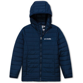 Columbia Powder Lite Jakke Drenge, collegiate navy